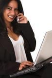 Afrikanische Geschäftsfrau Stockbild