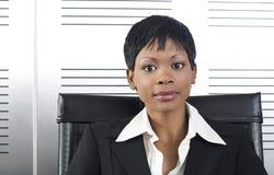 Afrikanische Geschäftsfrau Stockfotos