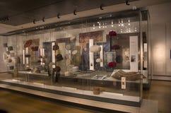 Afrikanische Hüte in British Museum lizenzfreie stockfotografie