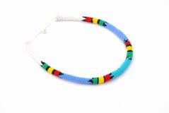 Afrikanische Halskette Stockbild