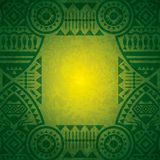 Afrikanische Hintergrunddesignschablone. Lizenzfreie Stockfotografie