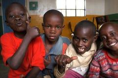 Afrikanische Kinder Lizenzfreie Stockfotos