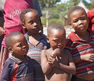 Afrikanische Kinder Stockbild