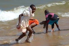 Afrikanische Kinder Stockfotografie