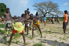 Afrikanische Kinder Lizenzfreie Stockbilder