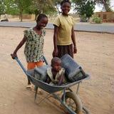 Afrikanische Kinder Stockfoto