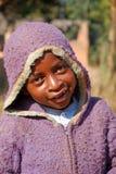 Afrikanische Kinder, die unter AIDS-Virus im Dorf von Pom leiden Stockfoto