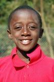 Afrikanische Kinder, die unter AIDS-Virus im Dorf von Pom leiden Lizenzfreies Stockbild
