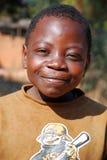 Afrikanische Kinder, die unter AIDS-Virus im Dorf von Pom leiden Stockbilder
