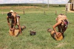 Afrikanische Kultur Stockfotografie