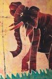 Afrikanische Kunst Stockbild