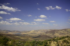 Afrikanische Landschaft Stockfotos