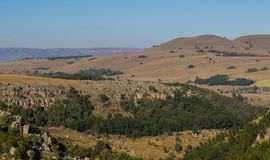 Afrikanische Landschaft in Mpumalanga Südafrika Stockbilder