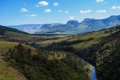 Afrikanische Landschaft in Mpumalanga Südafrika Lizenzfreie Stockfotos