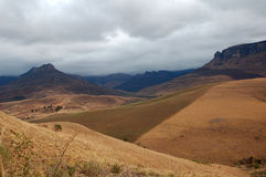 Afrikanische Landschaft szenisch Lizenzfreie Stockfotografie