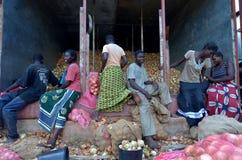 Afrikanische Landwirte Lizenzfreies Stockbild