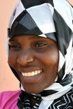 Afrikanische moslemische Frau Lizenzfreie Stockfotos