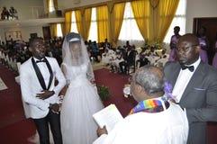 Afrikanische Paare stockbild