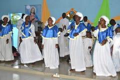 AFRIKANISCHE RELIGIÖSE HEIRAT Lizenzfreie Stockfotos