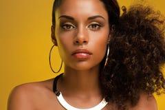 Afrikanische Schönheit lizenzfreies stockfoto