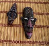 Afrikanische Schablone Lizenzfreies Stockfoto
