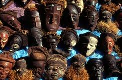 Stockbild afrikanische masken