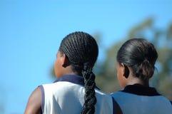 Afrikanische Schwestern Lizenzfreie Stockfotos