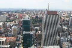 Afrikanische Stadt Lizenzfreies Stockfoto