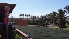 Afrikanische Stadt in Mosambik stockbilder