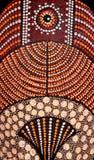 Afrikanische Stammes- Schablone Stockbild