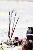 Afrikanische Stangen an einem Festival in Kenia Lizenzfreie Stockfotos