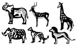 Afrikanische Tiere Lizenzfreies Stockfoto