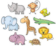 Afrikanische Tiere Stockbilder