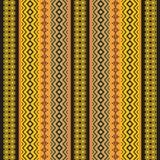Afrikanische traditionelle dekorative Gewebebeschaffenheit Lizenzfreie Stockfotos