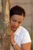 Afrikanische Traurigkeit Lizenzfreies Stockfoto