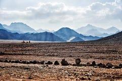 Afrikanische Wüste Lizenzfreie Stockfotos