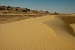 Afrikanische Wüstenlandschaft Lizenzfreie Stockbilder