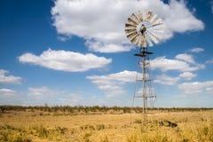 Afrikanische Windmühle stockfotografie