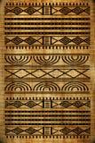 Afrikanische Wolldecke Stockfotos