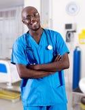 Afrikanischer Doktor lizenzfreies stockbild