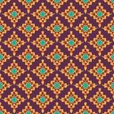 Afrikanischer Druck Shweshwe in den vibrierenden Farben vektor abbildung
