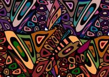 Afrikanischer Hintergrund Stockbilder