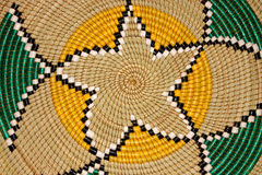 Afrikanischer Korb Lizenzfreie Stockfotografie