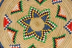 Afrikanischer Korb stockfoto