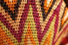 Afrikanischer Korb Stockbild
