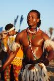 Afrikanischer männlicher Tänzer, IMSA 2011 Stockbild