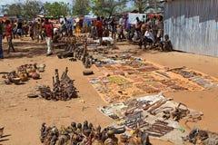 Afrikanischer Markt Stockfotos