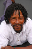 Afrikanischer schwarzer Mann lizenzfreies stockfoto