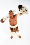 Afrikanischer Stammes- Mann Lizenzfreie Stockbilder