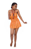 Afrikanischer Tänzer Lizenzfreie Stockfotografie